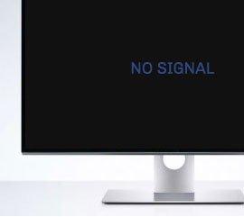 ο υπολογιστής δεν έχει σήμα στην οθόνη